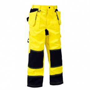 Werkbroek Blaklader kinder High Visibility 1524